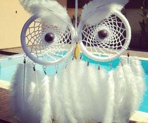 owl, Dream, and dreamcatcher image