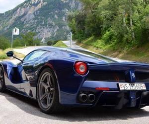beautiful, blue, and car image