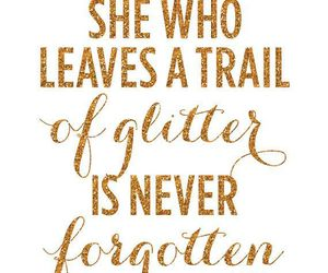 glitter, kate spade, and text image