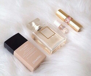 chanel, makeup, and perfume image