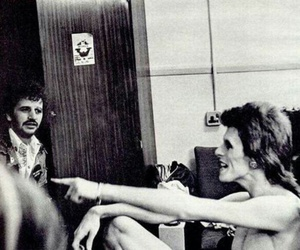 david bowie, legends, and ringo starr image