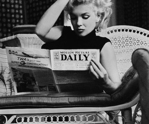 lovely, monroe, and white and black image