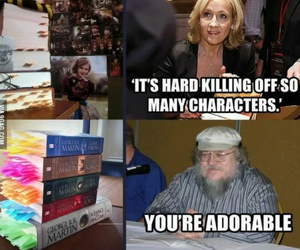 harry potter, game of thrones, and book image