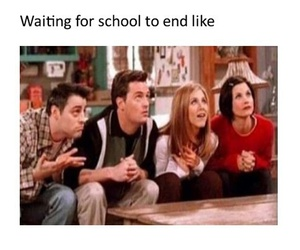 funny, school, and friends image