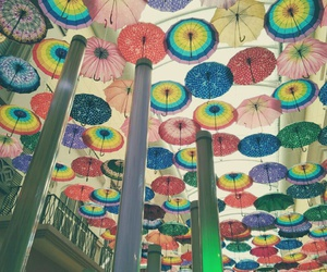 ceiling, colourful, and decoration image