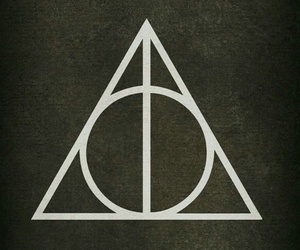 harry potter, background, and deathly hallows image