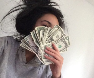 cool, hair, and money image