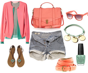 belts, jeans, and Polyvore image
