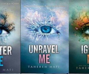 book, shatter me, and tahereh mafi image