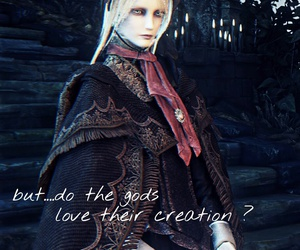 dark, doll, and game image