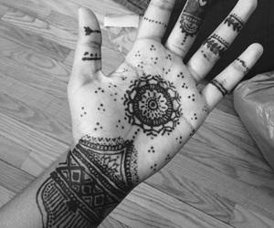 bodyart, henna, and patterns image