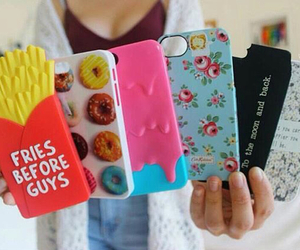 cases, black, and colorful image