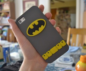 batman, iphone, and cover image