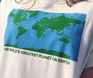 fashion, earth, and planet image