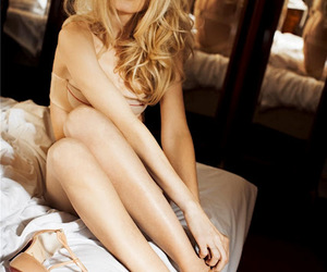 60's, bed, and blonde image
