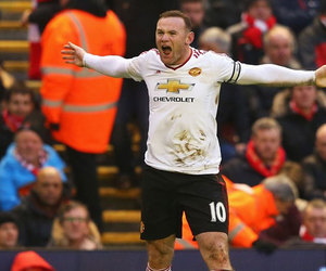 football, wayne rooney, and manchester united image