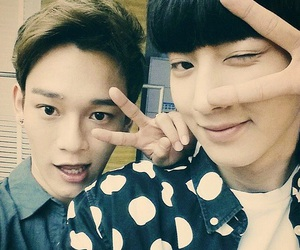 Chen, chanyeol, and chanchen image