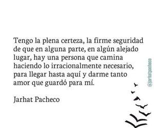 beautiful love, frases de amor, and pacheco image