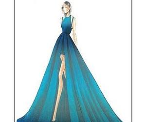 beautiful, blue, and designer image