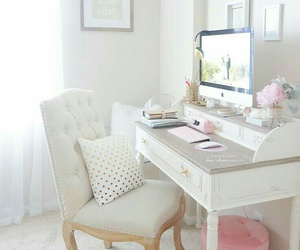 home and desk image