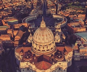 city, vatican, and in love image