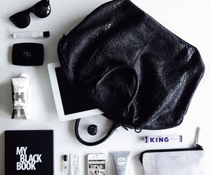 accessories, black, and channel image