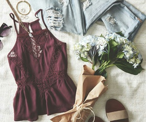 clothes, vintage, and fresh image