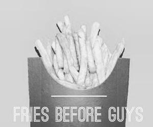 food, fries, and tough girl image