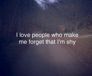 quotes, shy, and people image