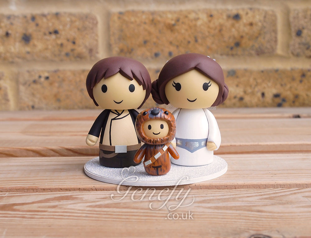 Hans Solo And Princess Leia With Chewbacca On We Heart It