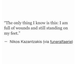 quotes, wounds, and sad image