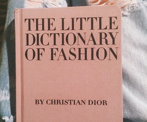 fashion, book, and dior image