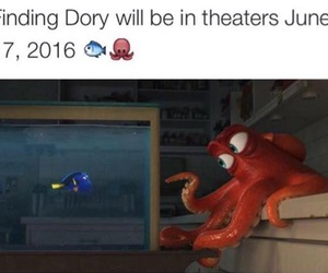 movie, finding dory, and dory image