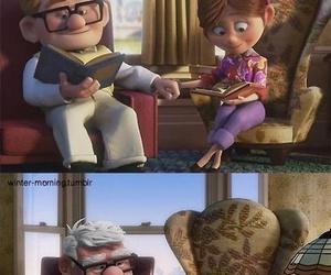 love, up, and sad image
