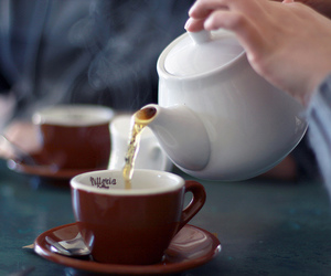 drink, photography, and tea image