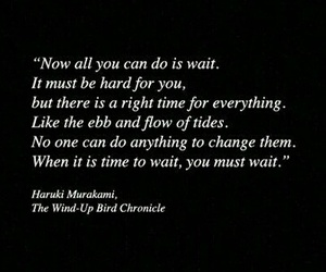 books, quotes, and waiting image
