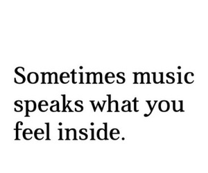 music, quotes, and inside image