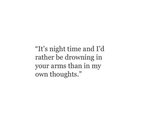 drown, long distance, and night image