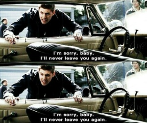 dean winchester, supernatural, and jansen ackles image