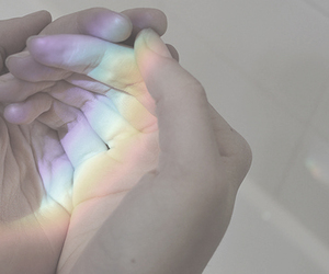 hands, rainbow, and lgbt image