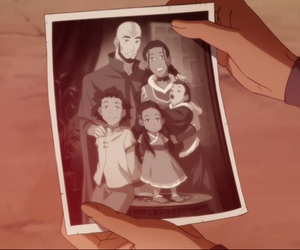 aang, avatar, and family image