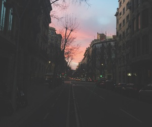 afternoon, Barcelona, and pink image