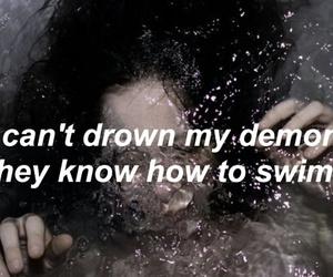Lyrics, demons, and drown image