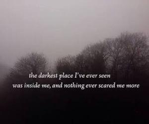 dark, quotes, and sad image