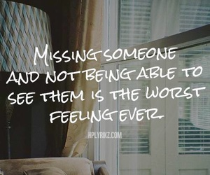 sad, missing, and quote image
