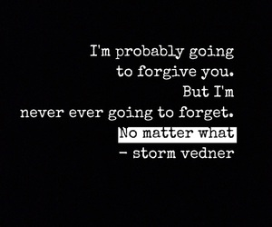forget, forgive, and no image