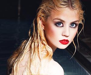 allison harvard, model, and blonde image