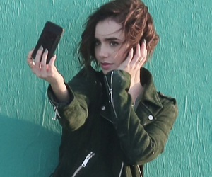 lily collins, icons, and low quality image