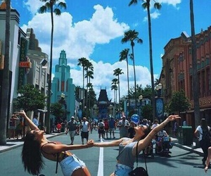 friends, summer, and travel image