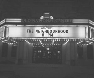 the neighbourhood, bands, and black and white image